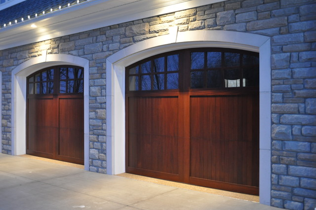 Wood doors traditional garage doors and openers by Wayne dalton garage doors