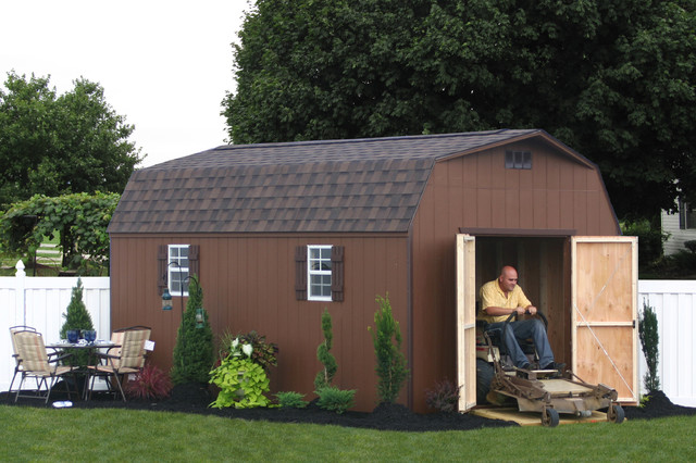 Wooden and Vinyl Storage Sheds from PA traditional-garage-and-shed