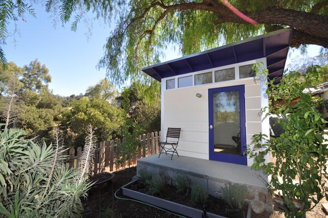 Writer's Studio Shed modern-garage-and-shed