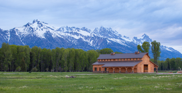 Wyoming Horse Barn traditional-garage-and-shed