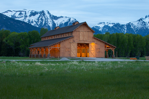 Amazing Horse Barn Designs on rustic barn home plans