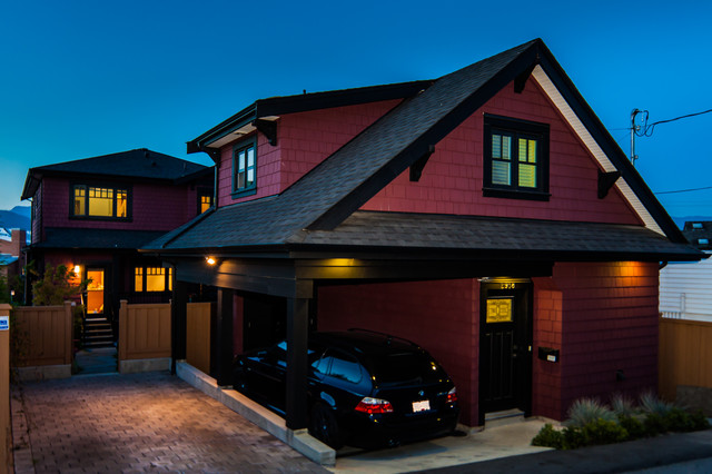 Yale contemporary-garage-and-shed