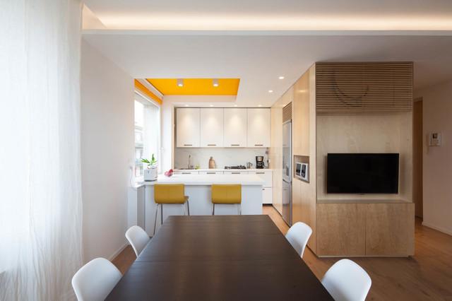 abitazione mestre contemporaneo-soggiorno
