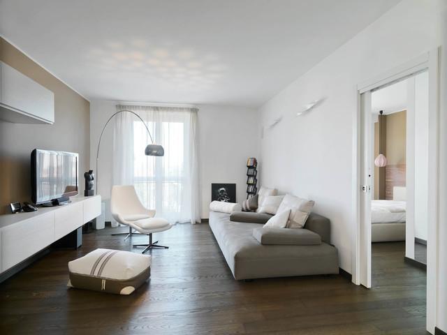 abitazione privata Cermenate (Co) contemporaneo-soggiorno