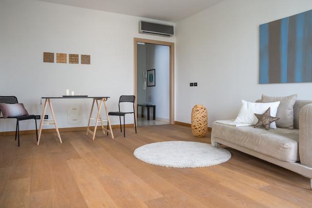 Allestimento appartamento di nuova costruzione non for Soggiorno arredato