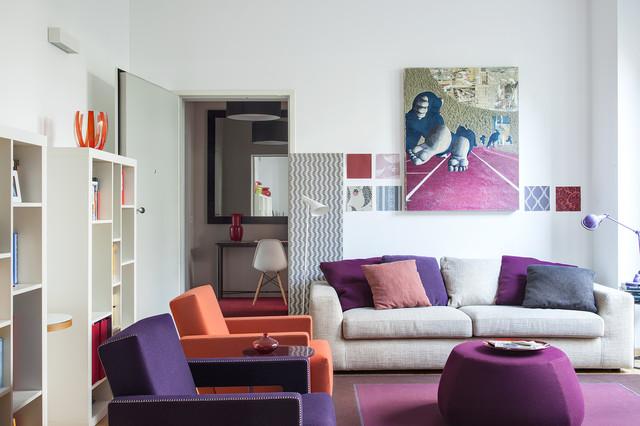 Appartamento a milano contemporaneo soggiorno milano for Soggiorno a milano