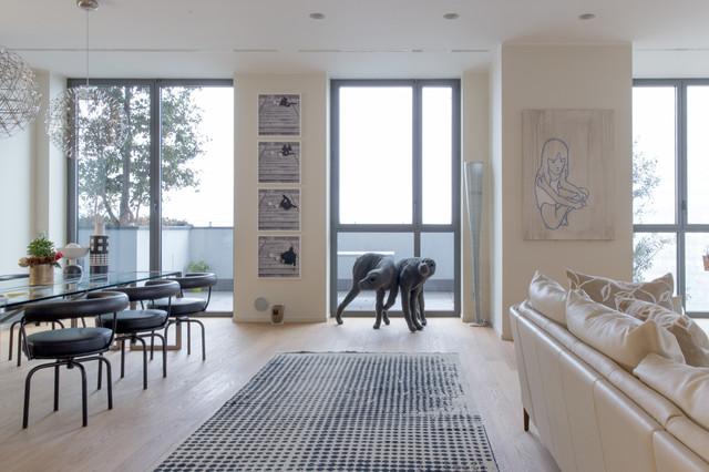 Appartamento Bosco Verticale - Contemporaneo - Soggiorno - Milano