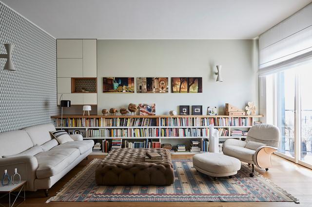 Appartamento C. contemporain-salon