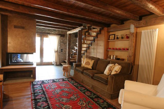 Appartamento in Baita - In Montagna - Soggiorno - Torino - di Design ...