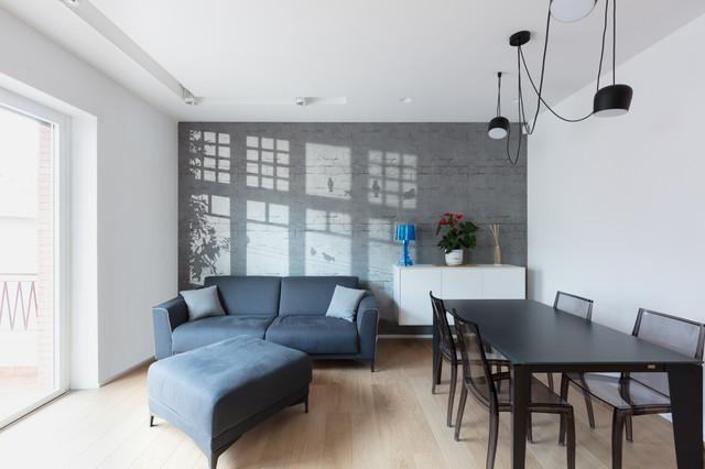 Appartamento in Roma - Tommaso da Celano contemporain-salon