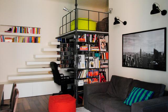 Appartamento plinio industriale salotto milano di for Appartamento design industriale