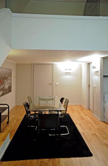 Esempio di un soggiorno design