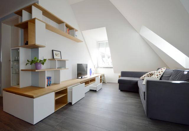 Casa di Laura e Stefano | 120 mq contemporaneo-soggiorno