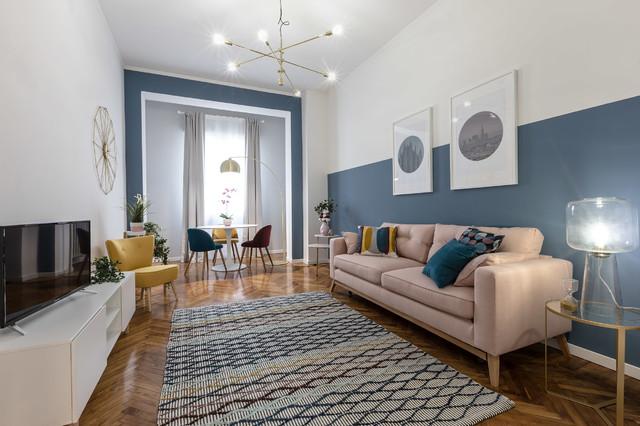 Casa MS.2 | Relooking | MQ. 85 contemporain-salon
