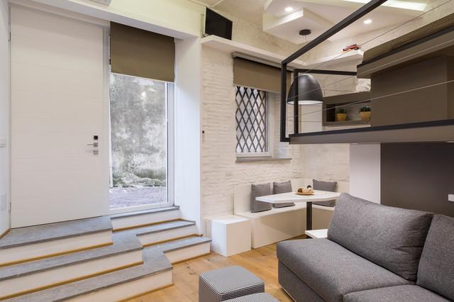 Casa privata Roma - Contemporaneo - Soggiorno - Roma - di ...