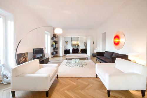 Living con o senza tappeto - Lamare parquet senza spostare mobili ...