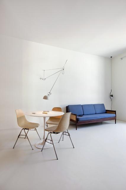 Immagine di un soggiorno minimal