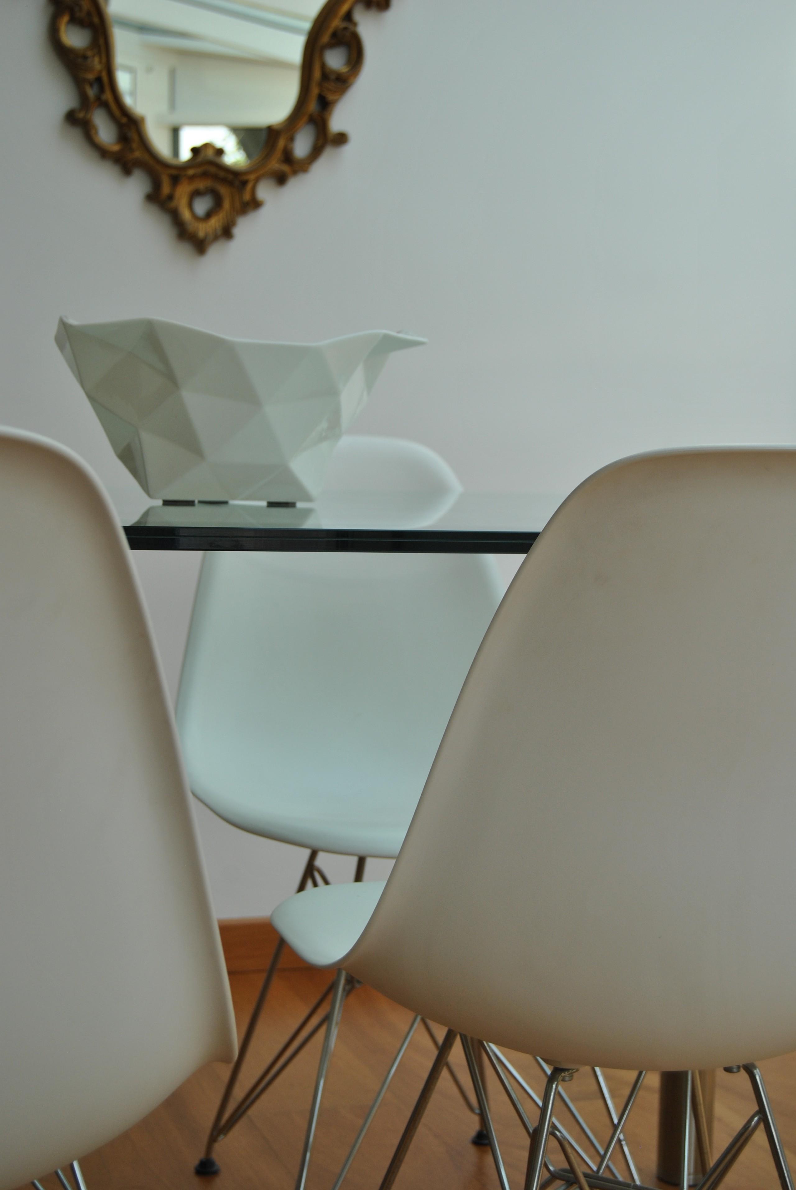 Dettaglio tavolo da pranzo