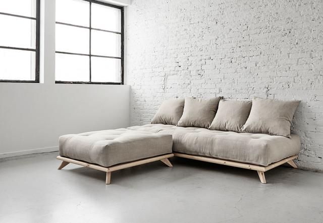 Divano letto minimalista Senza - Industriale - Salotto ...