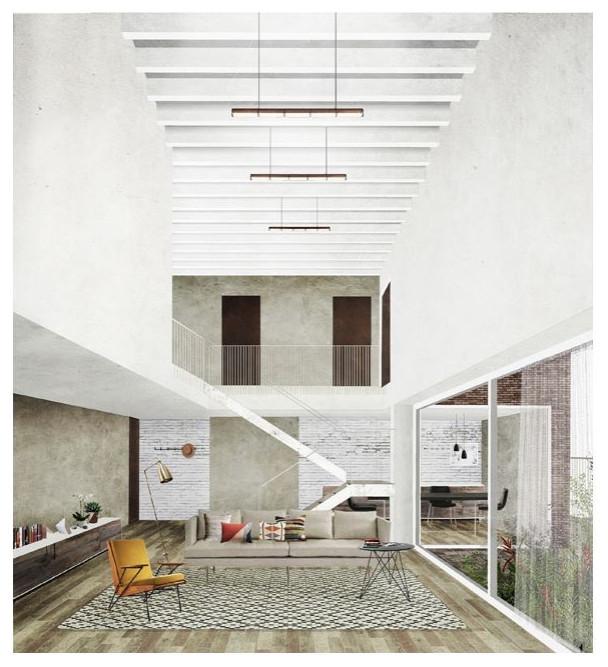 Edifico residenziale - cohousing Milano