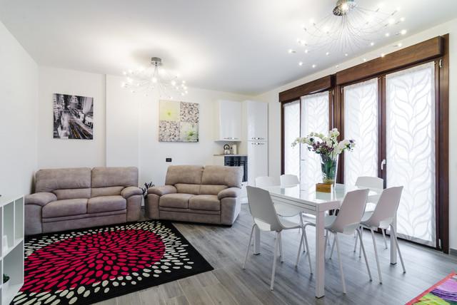 Design Di Interni Milano.Foto Appartamento Milano Contemporary Living Room Milan By