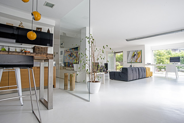 Garage House in Sicilia - Moderno - Soggiorno - Catania ...