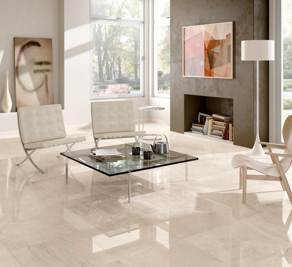 Pavimento Finto Marmo Lucido gotha - pavimento effetto marmo lucido - contemporary