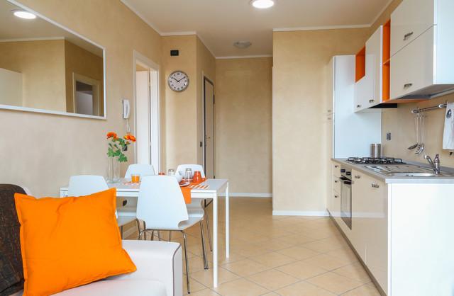 Arredo ed allestimento di un appartamento bilocale for Arredamento bilocale moderno