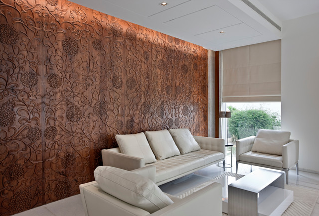 10 Decorative Wooden Wall Panel Designs, Wall Panels For Living Room India