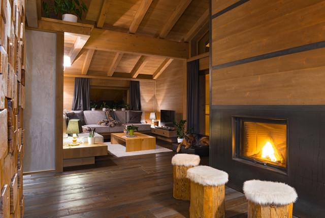 Emejing Soggiorno In Montagna Contemporary - Amazing Design Ideas ...