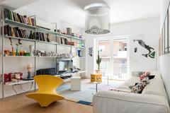 Bravo! Eine Familienwohnung feiert Design und Farben