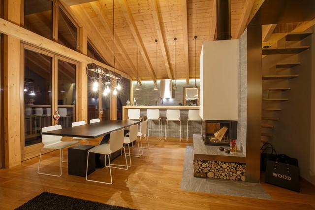Nest House - In Montagna - Soggiorno - Altro - di BEARprogetti
