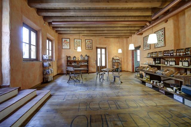 Parquet in campagna soggiorno milano di galimberti for Galimberti case legno