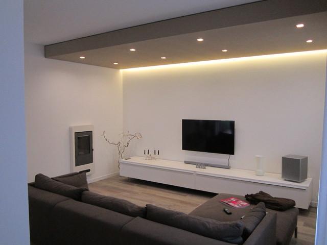 Progetto d'interni contemporaneo-salotto
