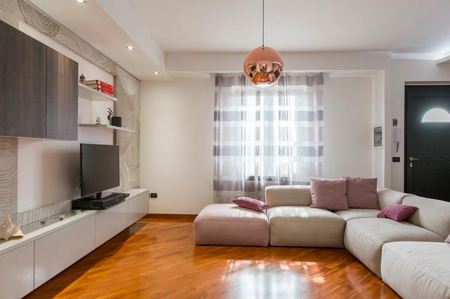 Progetto relooking soggiorno e cucina-Iglesias ...