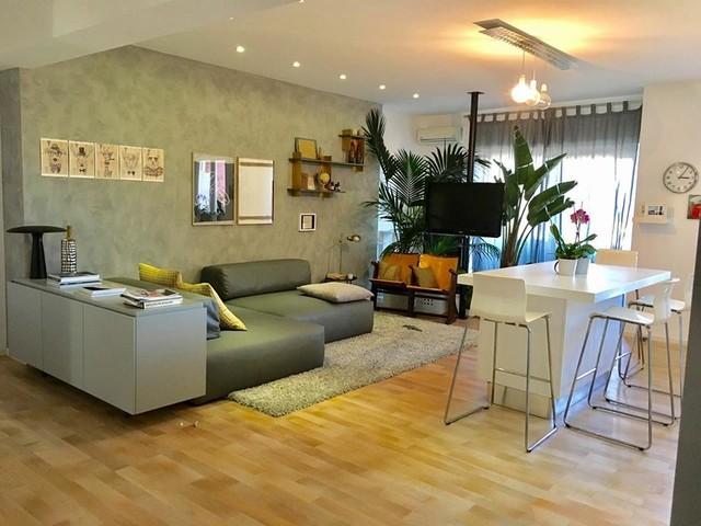 Realizzazione cucina open space e living - Wohnbereich - Rom ...
