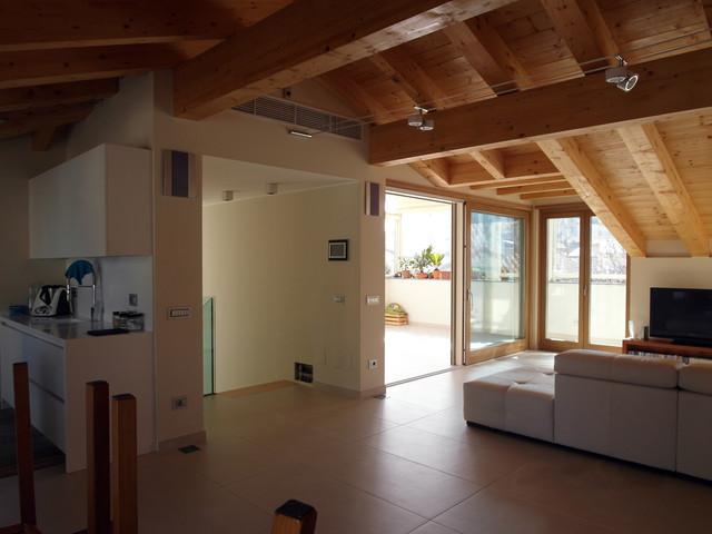 Recupero sottotetto in una residenza privata a milano - Recupero sottotetto ...