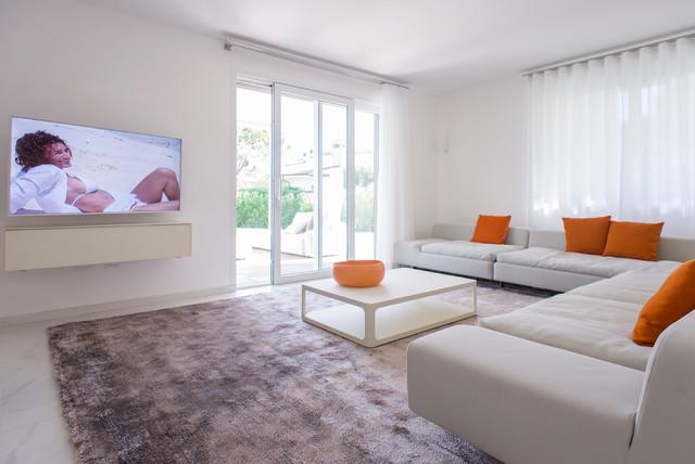 Ispirazione per un soggiorno design