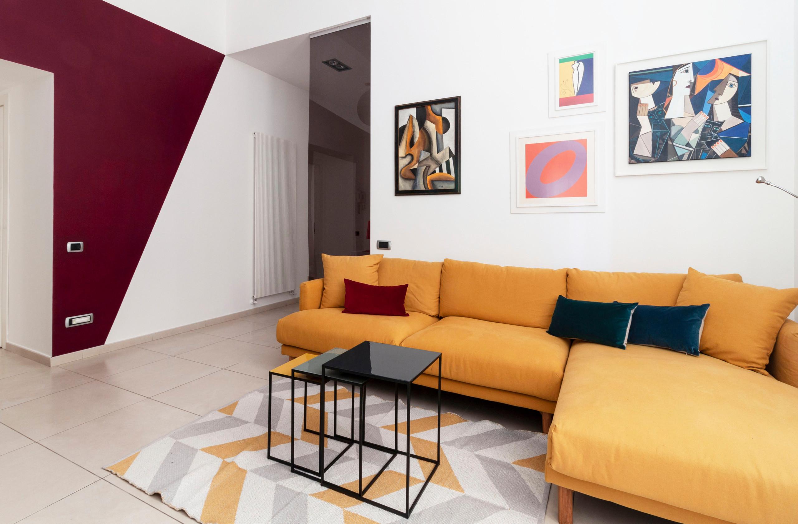 Relooking di un appartamento a Napoli
