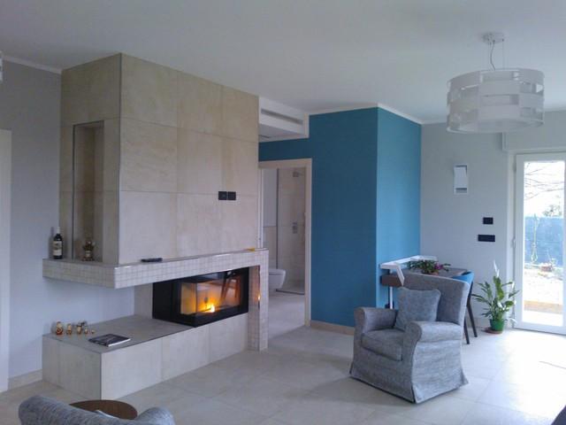 Ristrutturazione abitazione anni 60/70 colori neutri e relax!