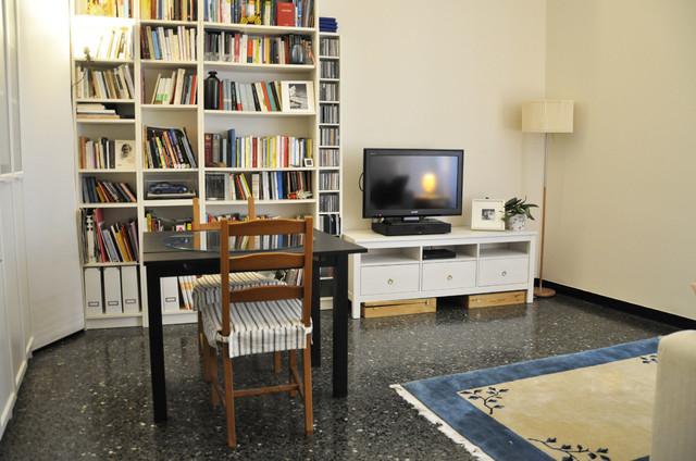 Ristrutturazione appartamento - San Matteo contemporaneo-salotto