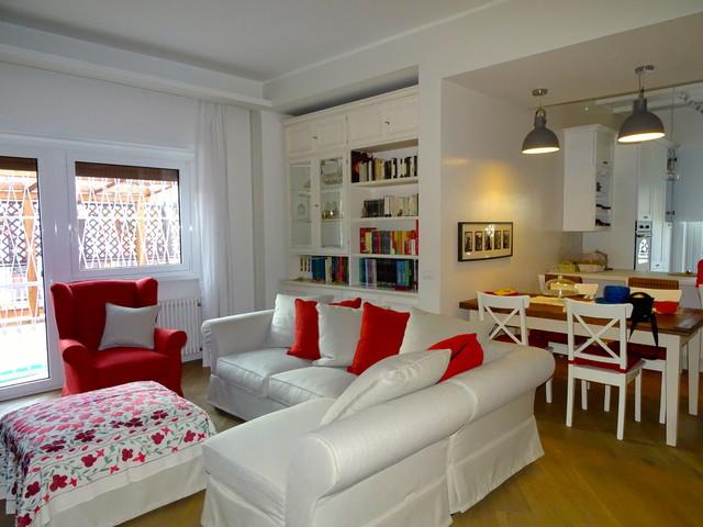Stunning soggiorno country moderno contemporary design for Case in stile country moderno