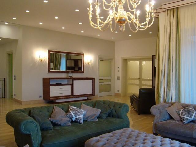 Salotto in stile classico rivisitato - Classico - Soggiorno - Milano ...