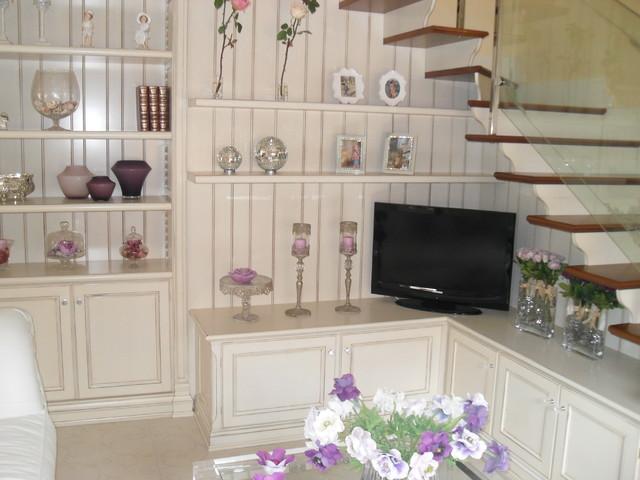 scala con arredo abitazione privata - Shabby-Chic Style ...
