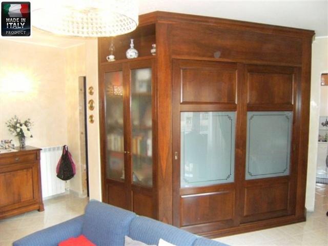 Soggiorno con cabina armadio classico-soggiorno