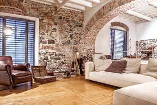 Spazioso loft minimalista al porto di genova for Giardinieri genova