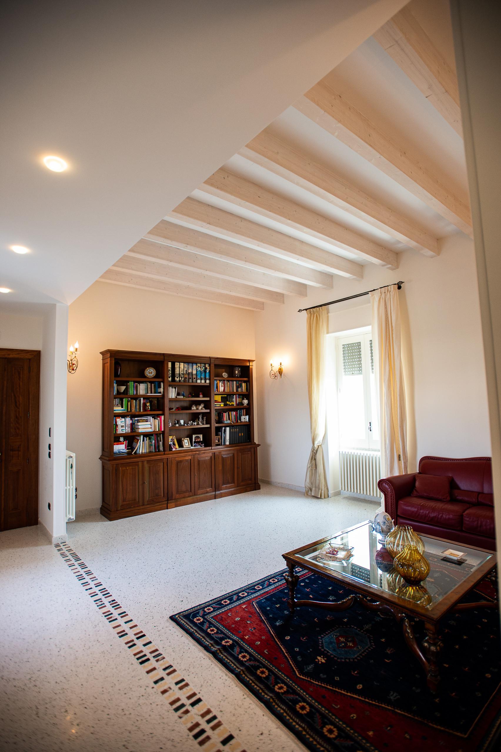 Tetto in legno casa SG