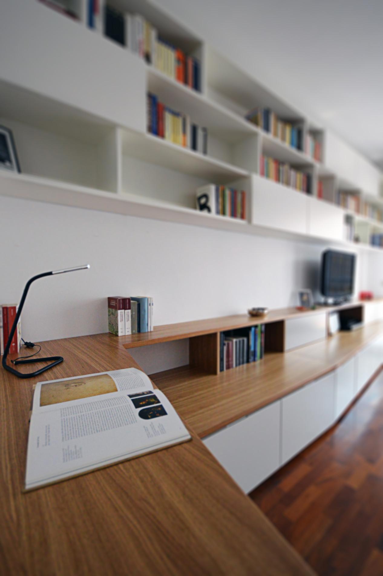 Un soggiorno su misura | 80 mq