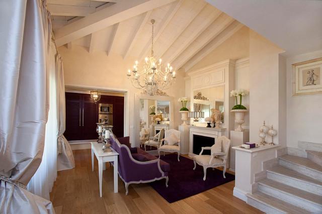 Villa di campagna for Soggiorno shabby moderno