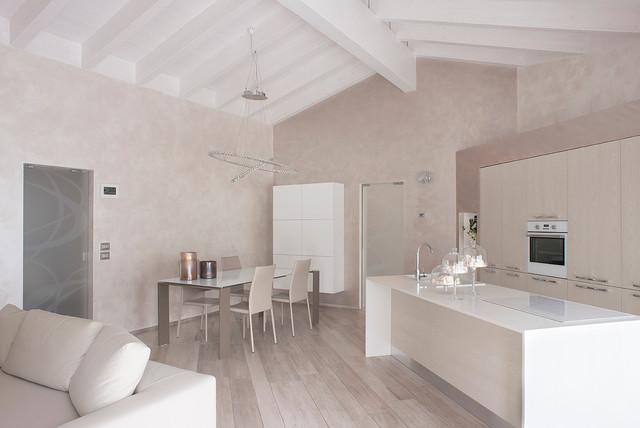 Villa Passiva Bioedilizia - Contemporaneo - Soggiorno - Milano - di ...